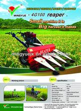 Corn harvester for wheat