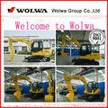 Excavadora de china, pequeña excavadora hidráulica, 7 ton excavadora hidráulica de la función