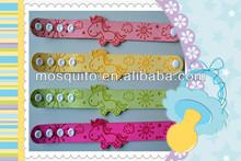 2014 hot sales new designs citronella mosquito repellent bracelet for horse baby
