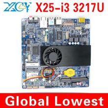 1 pcs Big Promotion!!! XCY X25-I3 Intel core i3 computer mother board, Micro mother board, Mini-ITX mini mainboard