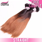 2014 Virgin Brazilian Two Tone Human Weaving Horse Hair Extensions