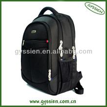 High quality nylon tactical black laptop school backpack