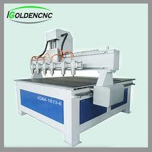 Multi heads High Efficiency CNC Wood Cutting machine IGW1313