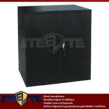 laptop black garage equipment metal Diy tool master chest square cabinet / 2-tier antique miniature iron cabinet furniture