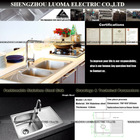 kitchen accessory LS-1021 single bowl stainless steel kitchen sink