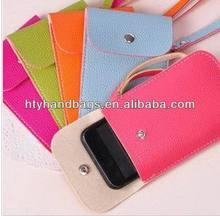 Popular unique cell phone shoulder strap bags