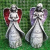 2014 polyresin garden decorative fairy sculpture