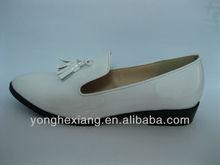 Elegant lady leather shoes genuine