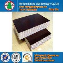 Black film faced plywood marine plex wbp glue birch core