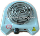 Electric stove single hotplate