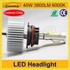"High quality 40W 3800LM 7"" led headlight"