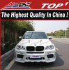 For bmw body kit x5 2007-2013 X5 Haman-n style dual muffler