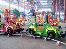 2014 Superior model children attraction track train rides for amusement