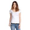 2014 Hot Selling Plain White Cotton T Shirt