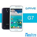Bon marché de téléphone mobile gps wifi 3g g'five. g7 mtk6582 android. quad core 1.3 ghz