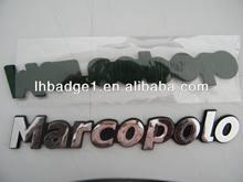 custom chrome car emblems/logo plate