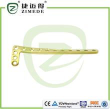 Tibial distal lateral de bloqueo de compresión placa fémur intramedulares de uñas