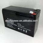 sealed lead acid battery 12v 7.2ah