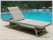 Leisure life outdoor furniture folding beach sun bed