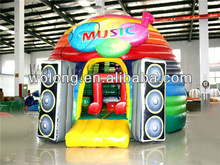2014 CE certificate Music Show inflatable jumping castle