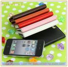 2014 fashion mobile rhinestone leather phone case use for apple iphone