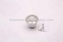 Alta calidad redondo alimento del papel de aluminio placa de cocción