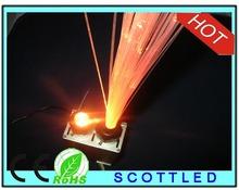 fiber optic illuminato r10*2w double port16W optic fiber ,with 24key IR remote controller; AC100-240V input IR fiber optic