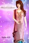Shaz Creations Pakistani Bridal Formal Casual Wear Dresses shipping to USA, UK, Canada
