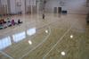 22mm Solid Hevea Rubberwood Sport Flooring