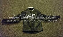 Motorcycle Biker Leather Jacket / motorbike jacket / Motorcycle & Auto Racing Wear