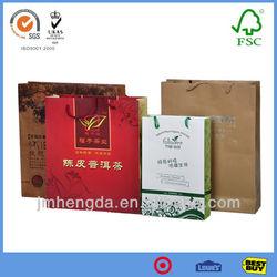 Customized Beautiful Art Craft Shopping Paper Bag