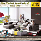 Modern Living Room Italian Leather Sofa 1281