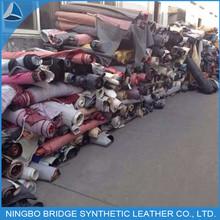 Cheap price good PU/PVC stock leather