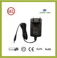 9V 250mA vacuum cleaner adapter