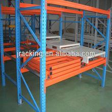 Good quality Q235 steel warehouse storage push back racking