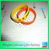 top quality accessories color filled silicone bracelet