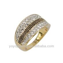 2014 metal o mexican wedding stone men ring