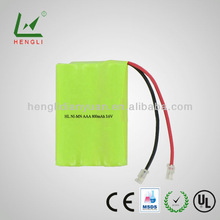 2014 Best selling products R/C toys rechargeable aaa 800mah ni-mh battery pack