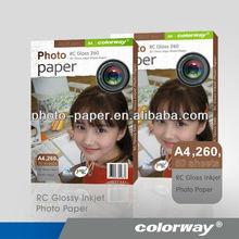 "260g luster photo paper 5"" 6"" 8"" 10"" 12"" wide 100feet/328feet long for minilab Noritsu printer use"