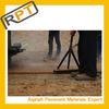 Roadphalt color orange hot bitumen