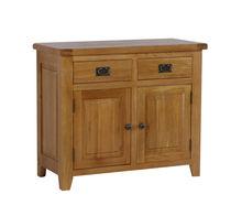 306 RL Range Solid Oak 2 Drawers 2 Doors Sideboards/Oak Wood Buffet