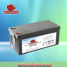 12v 220ah deep cycle gel back up batteries