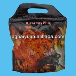 Resealable Chicken Plastic Ziplock Bag