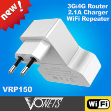 2014 VONETS VRP300 3g wireless router with print server