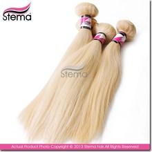 Alibaba China Top Quality Virgin Peruvian Light blond color hair