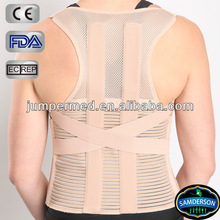 mesh breathable material provides maximum ventilation elastic complete back support
