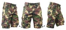 Men Textile Cargo Shorts