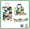 Sublimation printing shopping bag with luggage cover