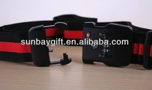 2014 NEW corporation gift luggage strap lock belt for business gift&promotion gift with OEM logo