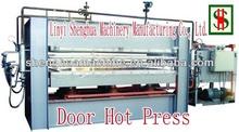 hydraulic wood door hot press machine/door pressing machine/door skin laminate